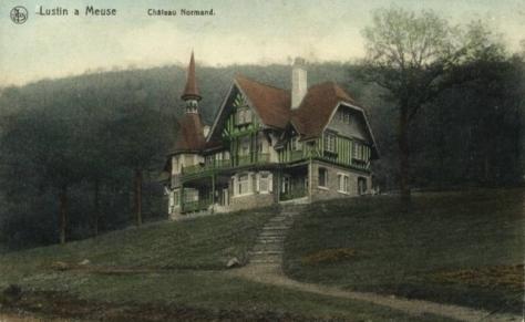 Lustin,Colorée,Villa Normande,Chateau Bon Baron