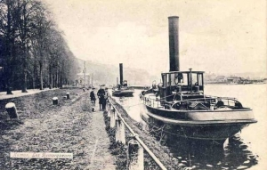 Remorqueur,Vapeur,Namur,Jambes,Ecluse,La Plante,Halage,Animée