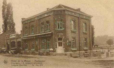 Ben-Ahin,Hotel,Garage,Restaurant,Robert Résimont